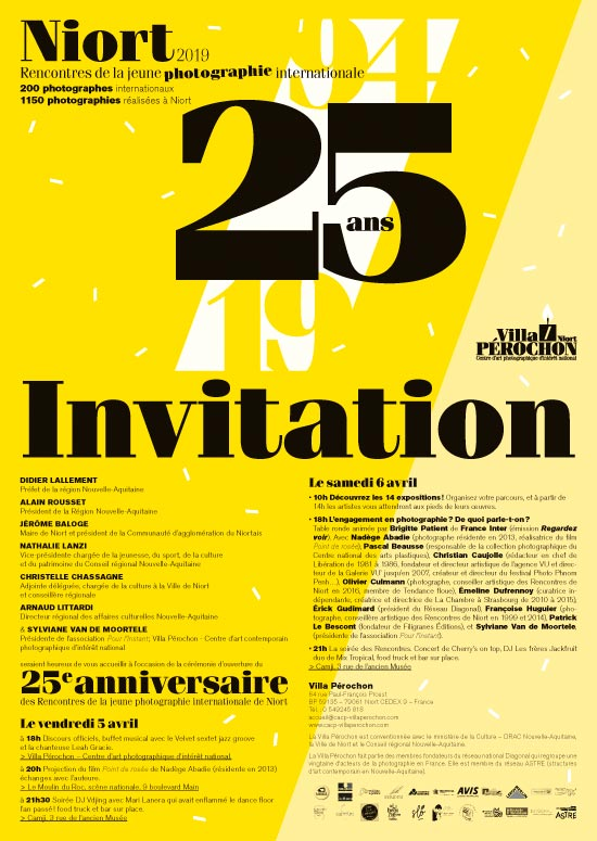 Rencontres de la jeune photographie internationale  Exposition collective